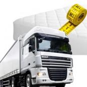 vrachtwagen matras op maat